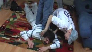 Sadistic Teen Boys Feet Kicking And Worship