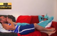 Boy Laughing When His Feet Licked HD