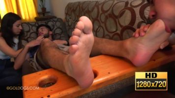 Straight Male Foot Slave II. HD