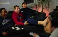 Gay Couple Footjob HD