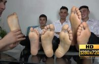 Straight Crush Feet – Schoolboys Foot Game HD