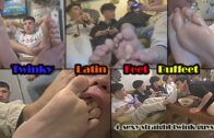 Twinky Latin feet Buffet – Str8crushfeet