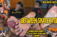 Str8CrushFeet – Between Skater Toes